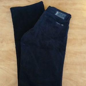 Mavi Molly black corduroy 5 pocket jeans, size 27
